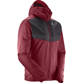 Salomon Fast Wing Aero Running Jacket Men red/black